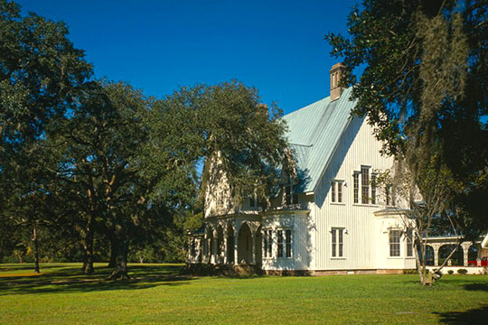 Rose Hill Plantation House, ca. 1858, US 278, Bluffton, SC, National Register