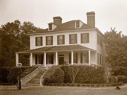Lewisfield, U.S. ca. 1774, Route 52, Moncks Corner, Berkeley County, SC, National Register