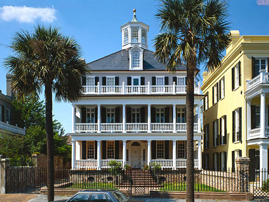 Colonel John Ashe House, ca, 1782, 32 South Battery Street, Charleston, SC