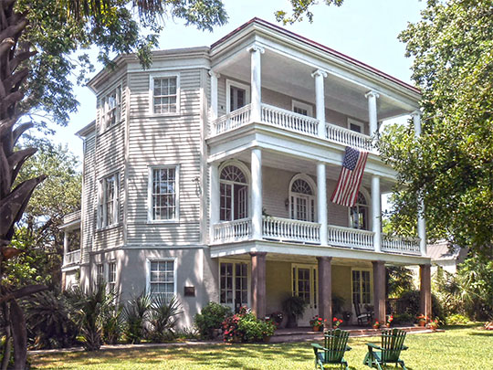 Robert Barnwell Rhett House, ca, 1844, 6 Thomas St., Charleston, SC, National Register