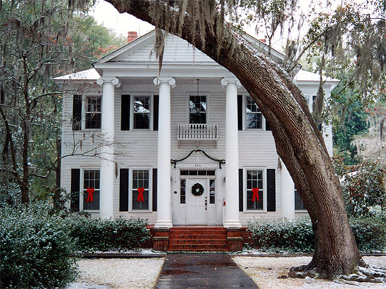 Fripp-Fishburne House, ca. 1889, 474 Hampton Street (Walterboro Historic District), Walterboro, SC, National Register