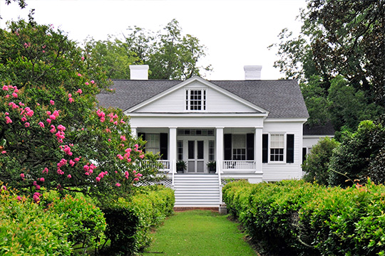 Rural Point (Robertson House; Doty House), ca. 1852, Old Camden Road, Winnsboro, SC, National Register