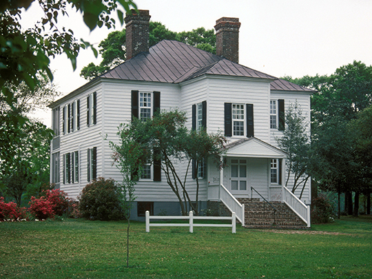 Hopsewee (Thomas Lynch, Jr. Birthplace), ca. 1735, 494 Hopsewee Road, Georgetown, SC, National Register