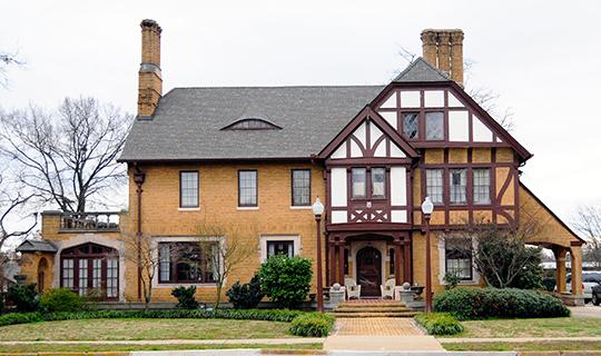 Davenport House, ca. 1921, 100 Randall Street, Greer, SC, National Register