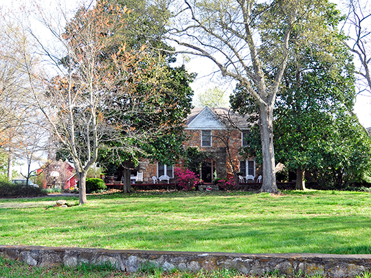 Hopkins Farm, ca. 1840, 3717 Fork Shoals Road, Simpsonville, SC, National Register
