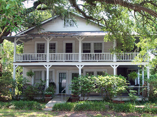 Pleasant Inn (also known as the William F. Simmons House), ca. 1927, 200 Broadway, Myrtle Beach, SC, National Register