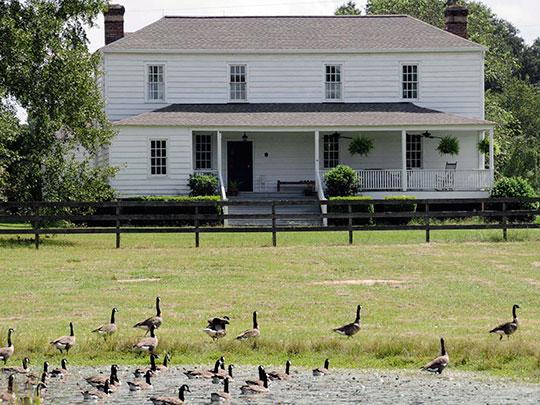 Thomas English House, ca. 1800, Highway 92, Camden, SC, National Register