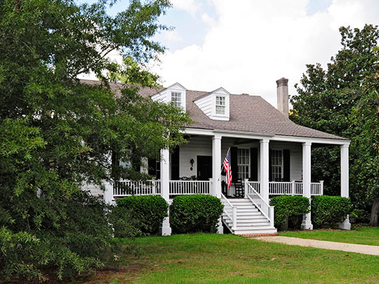 Zachariah Cantey House, ca. 1795, County Road 92, Camden, SC, National Register