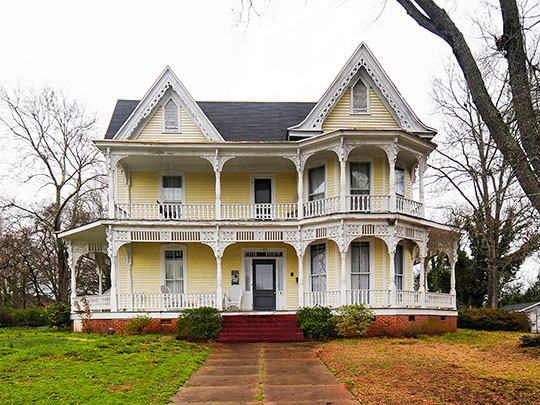 Dr. William Claudius Irby House, ca. 1890, 132 Irby Avenue, Laurens, SC, National Register