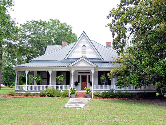 Reverend Frank Yarborough House, ca. 1906, 810 Bernard Street, Batesburg-Leesville, SC, National Register