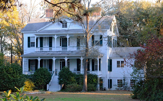 Appin Farmhouse, ca. 1875, Bennettsville, SC, National Register