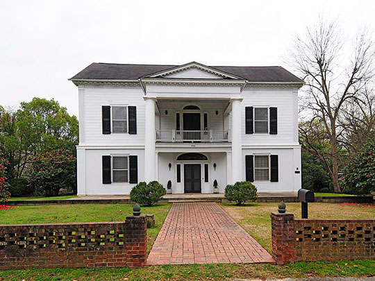 Coateswood, ca. 1841, 1700 Boundary Street, Newberry, SC, National Register