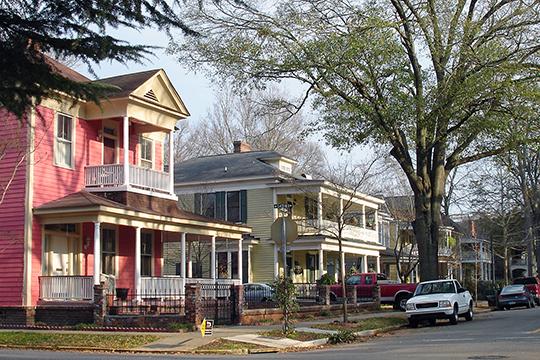 Unidentified street scene, Elmwood Park, Columbia, SC