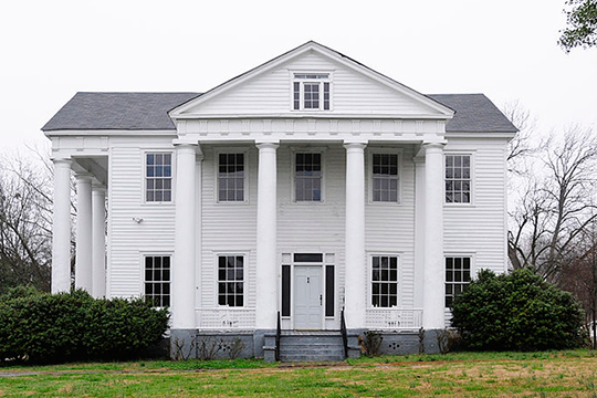 Meng House (Hill House; Clough-Wallace House), ca. 1832, 117 Academy Street, Union, SC, National Register