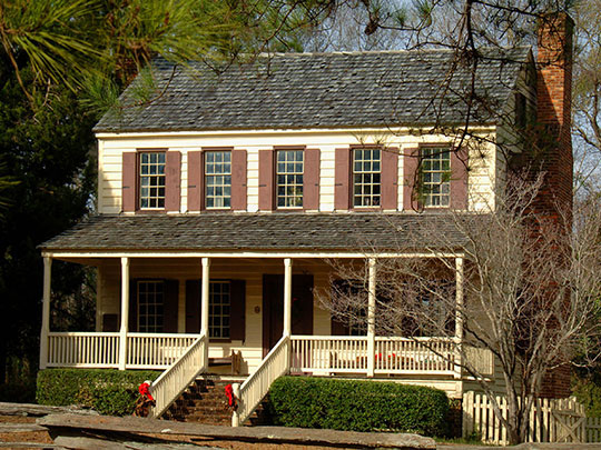 Thorntree (Witherspoon House), ca.1749, Route 527, Kingstree, SC, National Register