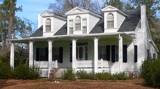 Colonel John Gotea Pressley House, ca. 1855, 216 North Academy Street, Kingstree, SC, National Register