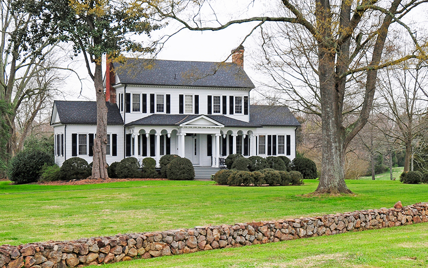 Springfield Plantation House, Route 21, ca. 1790, National Register, Fort Mill, SC