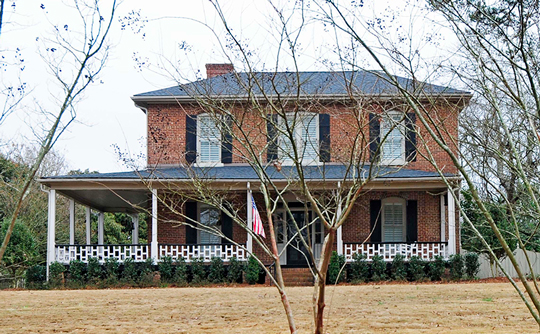 Mack-Belk House, ca. 1860/1890, 119 Banks Street, Fort Mill, SC, National Register