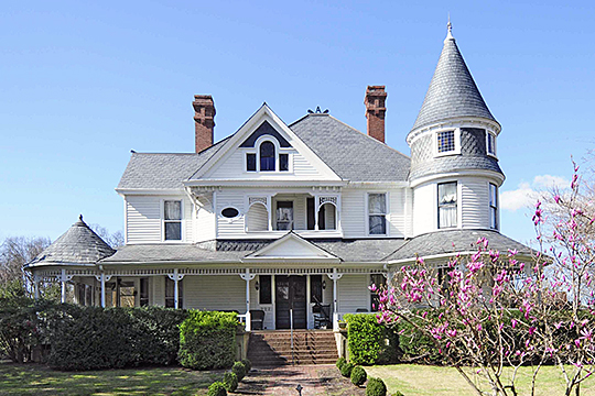 Anderson House, 1888, Oakland Avenue, Rock Hill, SC, National Register