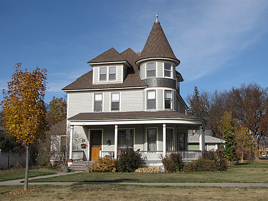 The George P. Sexauer House in Brookings South Dakota.