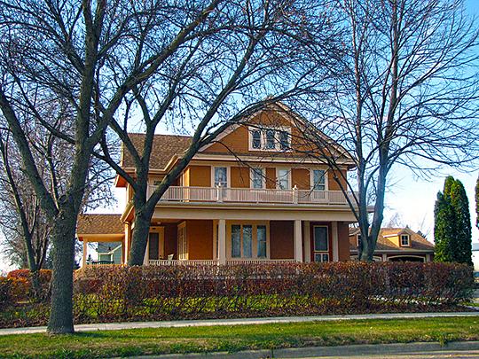 John L. Hall House, Samara Avenue, Volga, SD, National Register, Brookings County