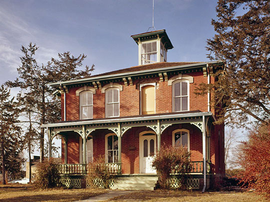 Austin-Whittemore House, ca. 1884, 15 Austin Avenue, Vermillion, SD, National Register