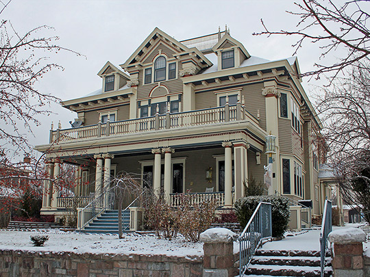 Farr House, ca. 1904, 106 East Wynoka Street, Pierre, SD, National Register