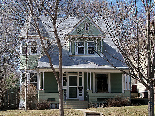 Harrison DeLong House, ca. 1889, 621 South Main Street, Sioux Falls, SD, National Register