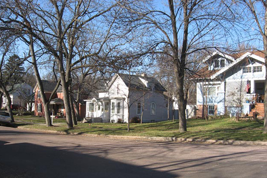 Homes in the Dell Rapids Historic District, Dell Rapids, Minnehaha County, SD, National Register