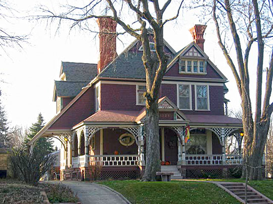 Edward Croughran House, ca. 1887, 1203 South 1st Avenue, Sioux Falls, SD, National Register