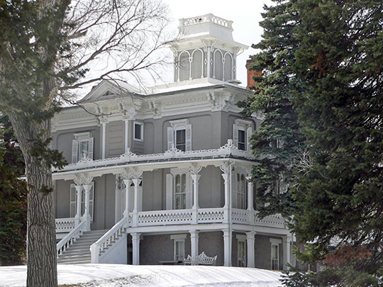 Ohlman-Shannon House, ca. 1871, 205 Green Street, Yankton, SD, National Register