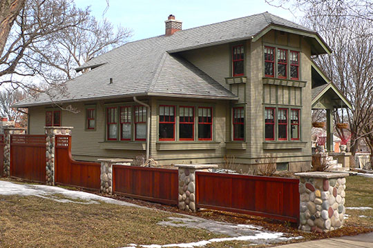 Harold A. (H. A.) Doyle House, ca. 1924, 712 West 3rd Street, Yankton, SD, National Register