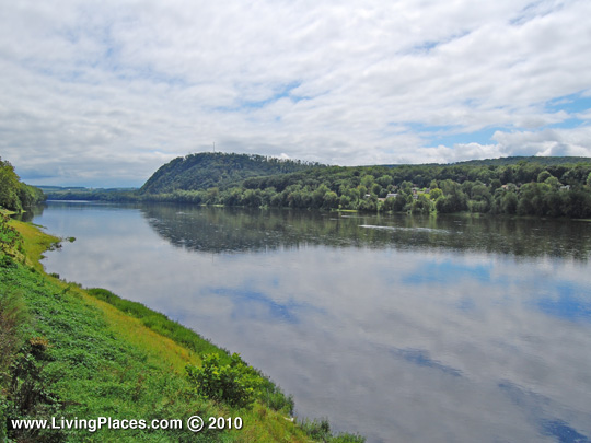 Susquehanna River at Danville, PA