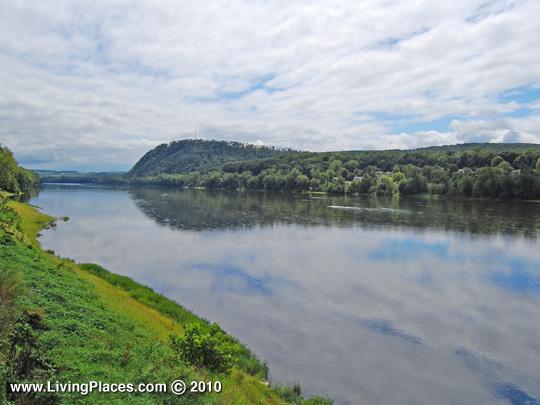 Susquehanna River at Danville, PA