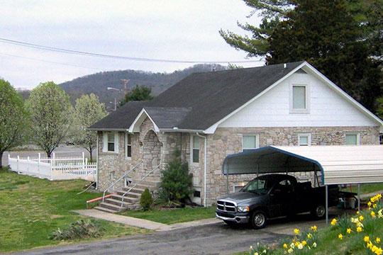 Luther Brannon House, ca. 1942, 151 Oak Ridge Turnpike, Oak Ridge, TN. One of three remaining pre-WW II houses in Oak Ridge, National Register