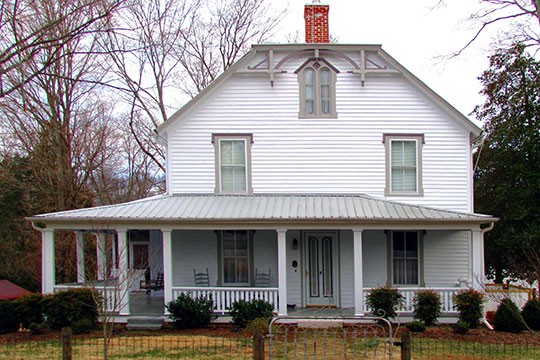 Marcus Warren House, Miser Station Road, Louisville, TN, National Register