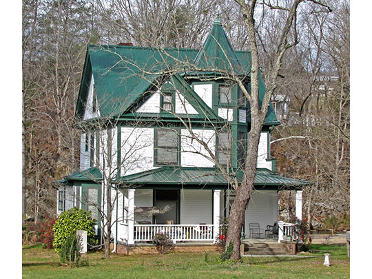 John F. Shea House, ca. 1904, Old Walland Highway, Townsend, TN, National Register