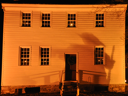 John and Landon Carter House, ca. 1775-1781, East Broad Street, Elizabethton, TN, National Register