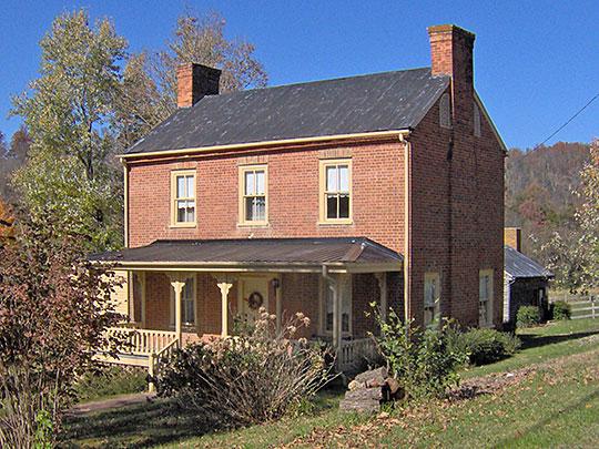 Madden Hall Farm House, the Fermanagh-Ross Farm, ca. 1825, 3225 Kingsport Highway, Greeneville, TN, Nationak Register