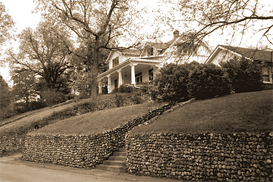 Homes in the 200 Block of South Crest Road, Missionary Ridge Historic District, Chattanooga, TN, National Register