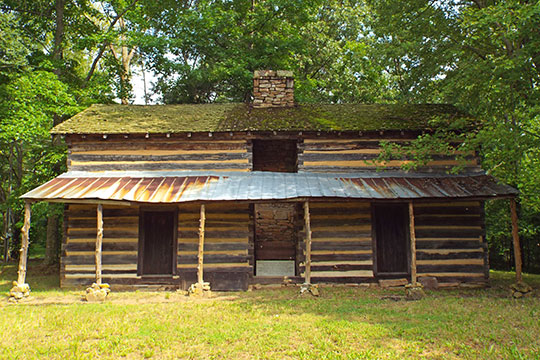 Connor Toll House (James C. Connor Cabin), Taft Highway at West Fairmont and Anderson Pike, Signal Mountain, TN, National Register