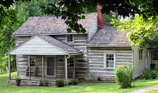 Nicholas Gibbs House, ca. 1793, 7633 East Emory Road, Corryton, TN, National Register