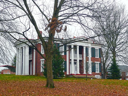 Martin Cheairs House, ca. 1854, U.S. Route 31, Spring Hill, TN, National Register