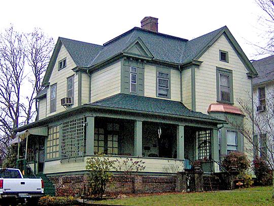 Russell-Jackson House, ca. 1891, 525 Cumberland Street, Harriman, TN, National Register
