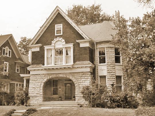 Jennings House, ca. 1906, Carr Avenue, Annesdale Park Historic District, Memphis, TN, National Register