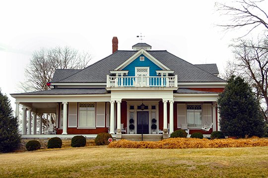 Edgar Walling House, ca. 1912, 406 North Spring Street, McMinnville, TN, National Register