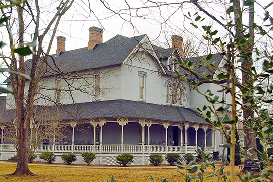 Clay Faulkner House (Falcon Rest,) ca. 1896, Faulner Springs and Bluff Springs Road, McMinnville, TN, National Register