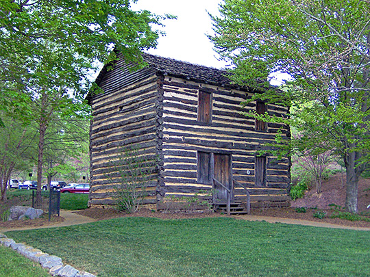 christopher taylor house,1777,jonesborough,washington county,tn
