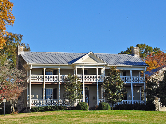Jordan-Williams House, ca. 1855, Rocky Fork Road, Nolensville, TN, National Register