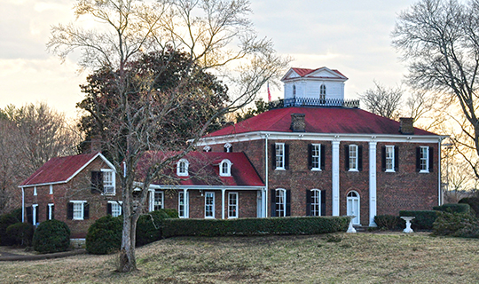 William S. Campbell House, ca. 1840, Route 96, Franklin, TN, National Register